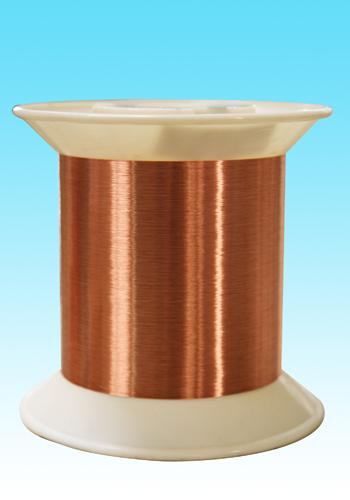 自粘性直焊聚氨酯漆包铜圆线